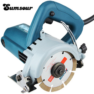 1250W Multifunctional Machine of Marble Tile And Stone Cutting Machine Power Wall Grooving Machine Portable Household