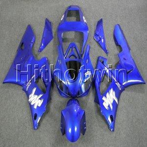 23colors + 8Gifts moto couverture carrosserie bleu pour Yamaha YZFR1 98 99 YZFR1 1998 1999 en plastique ABS Carénage