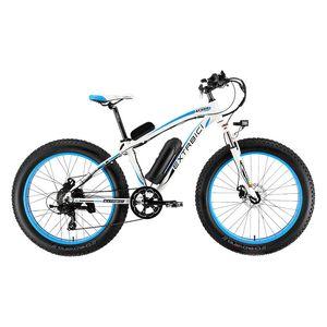 الجملة XF660 4.0 الدهون الإطارات كروزر الدراجة الكهربائية 500 واط 48 فولت 10.4ah بطارية ليثيوم الدراجات الدراجة مع عداد المسافات الذكية