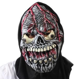 Hanzi_masks TOY Realistische Scary Monster Skeleton Kostüm Latex Maske Alien Freddy Kluge Gollum Horror Schädel Zombie Masken Für Cosplay