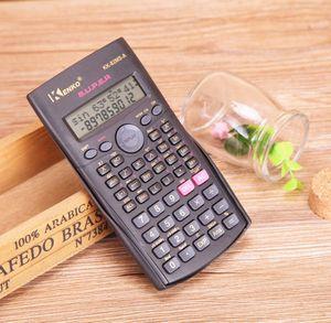 Handheld Student Scientific Calculator 2 Linie Display 82MS Tragbare Multifunktionale Rechner für Mathematik Lehre c668