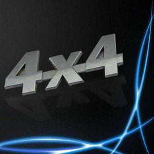 새로운 자동차 금속 3D 4X4 배기량 엠 블 럼 배지 트럭 자동차 모터 스티커 데 칼
