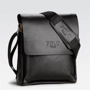 Mens Briefcase Business Bags Casual Business PU Leather Fashion Messenger Bag Vintage Men's Crossbody Bag Bolsas Black Brown Shoulder Bags