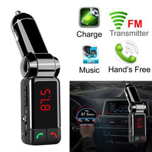 Caricabatteria per auto bluetooth BT06 Caricabatteria per auto BT MP3 BC06 lettore mp3 MP4 mini trasmettitore a doppia porta AUX FM