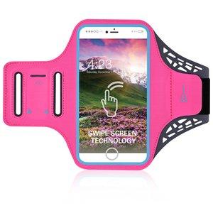 Renk Moda Kol Paketi Swipe Ekran Teknolojisi Güvenli Yansıtıcı Şeridi Running ourdoors telefon Silah Çanta 12 35bf ii