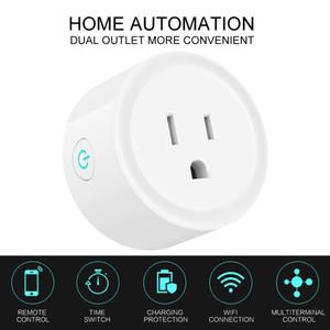미니 Wi-Fi 스마트 플러그 벽 소켓 Google 홈 키트 스위치 Wemo Treasure 트럭 타이밍 제어 전기 장치 Amazon Alexa Assistant