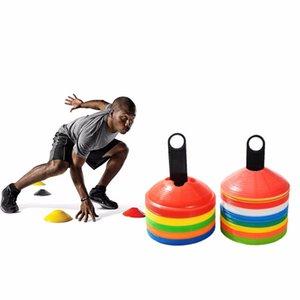10 шт. / лот 19 см 7.41 дюймов конусы маркер диски футбол Футбол обучение инструменты Soccers Спорт Развлечения Аксессуары Инструменты