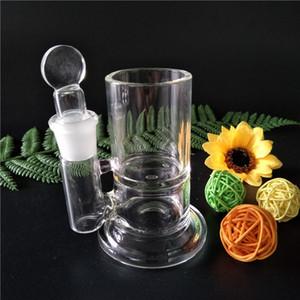 Haute qualité Q-Astuce ISO jar Qtip iso conteneur verre bong verre récipient huile stockage nettoyage verre bongs verrerie (IS-001)