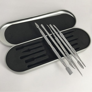 5 stil Paslanmaz Çelik Aracı Vape Dabber Aracı Balmumu Buharlaştırıcı Vape Kuru Ot Için Kullanın dab Aracı Skillet Buhar Kalem Kiti