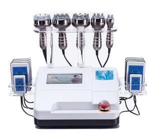 6in1 40K 초음파 Cavitation RF 진공 흡입 바디 슬리밍 아름다움 기계 CE