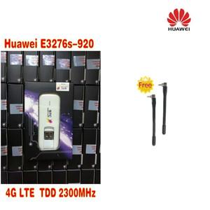 Desbloqueado Huawei E3276S-920 E3276 4 G LTE Modem 150 Mbps WCDMA TDD Sem Fio Dongle USB Rede mais 2 pcs 4g antena
