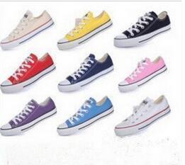 2017 Drop Shipping de haute qualité RENBEN Classic Low-Top Haut-Top en toile casual chaussures sneaker hommes / femmes chaussures en toile taille EUR 35-46