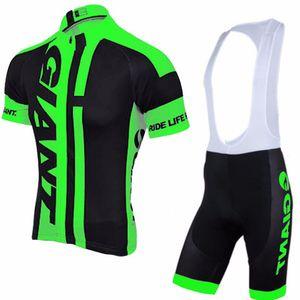 NEUE Team giant Radfahren Jersey kurzarm Sets MTB Fahrrad Tragen Atmungsaktive Fahrrad shorts Kleidung Bicicleta Maillot Ciclismo Anzüge 92608Y