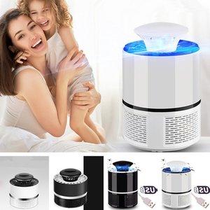 USB Lampe électronique tueur de moustique anti piège à moustiques Repeller Bug Zapper LED insectes Antidémarrage lumières électriques tueur de moustique lampe T2I361