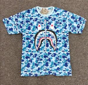 2018 Summer Men Women 3 colores Camou Hip Hop camisetas Teenager Loose Hip Hop T-shirts Tops Tallas M-2XL