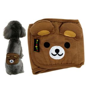 Pantaloni nuovo cane pannolino del ventre banda Cotone fisiologico intima Wrap Nappy Orso Elephant animali sanitari per Male Dog