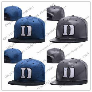 NCAA Duke Blue Devils Caps 2018 New College Adjustable Hats 모든 대학 스냅 백 주식 매치 도매 주문 그레이 블루 블랙
