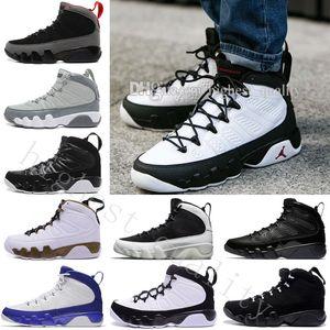 2018 en kaliteli 9 adam basketbol ayakkabıları uzay Jam Antrasit Barons Ruh 2010 sürüm geri sayım paketi spor ayakkabıları kadınlar doernbecher