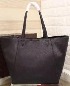 Роскошные женские LOCKME натуральная кожа одно плечо сумка покупки сумки m42291 большой размер большие случайные сумки для mother43 * 28*17 см Сумка V засов