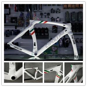 Drapeau Italie Cipollini RB1K THE ONE Champion italien Rahmenset Carbon Road Frame Cadre de vélo de vélo de route en fibre de carbone