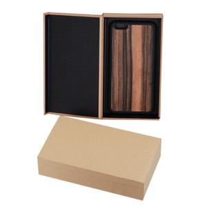 50 шт деревянная коробка для телефона чехол для iPhone Xs Max High Class жесткий картон упаковочная коробка для 5D закаленное стекло упаковка