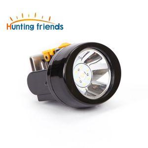 Caça Amigos Segurança Miner Lâmpada KL2.8LM recarregável 1+ 6 LED Cap Mining Luz Waterproof Explosão Acampamento Lamp Rroof Farol