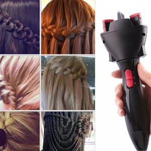 BRICOLAGE Tresse Cheveux Braider Coiffure Outil Enfants Édition Rapide cheveux outils de haute qualité Lady électrique Cheveux Outils