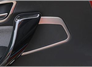 Haute qualité en acier inoxydable voiture audio parler couverture 2pcs / set accessoires de voiture pour BMW F20 118i 120i 135i 116i 2014 2015 2016