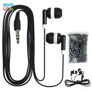 Meilleur prix New In-Ear Headphones 3.5mm Earbud Earphone Earpod Pour MP3 Mp4 Mobile téléphone pour cadeau Prix Usine 500pcs / lot