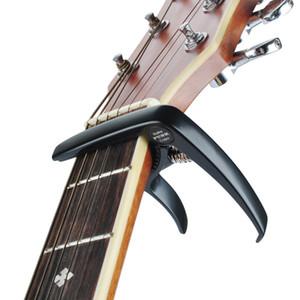 High-end in lega di zinco Capo della chitarra chitarra capotraste guitarra capo antiruggine resistente superficie stringa chitarra protezione delle unghie tirare