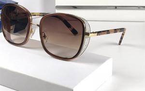 Luxus-Elvas-Designer-Sonnenbrille-glänzender Chip-Platten-Charme-Rahmen-hochwertige Anti-UVobjektiv-Spiegel-populäres Glasse entfernbares kommen mit Fall