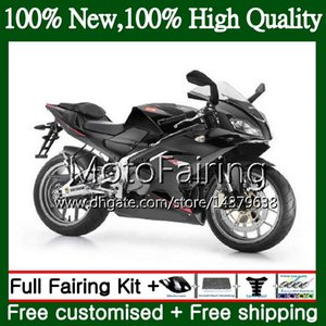Injection Pour Aprilia RS4 RS125 12 13 14 15 16 RS-125 1MF15 RSV125 RS125RR RS 125 2012 2013 2014 2015 2016 Fairing Carrosserie noir