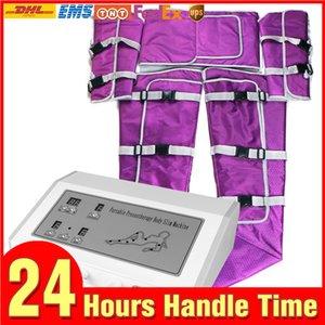 Высокое качество воздуха под давлением костюм для похудения Прессотерапия Прессотерапия Far Infrared Heat Air Wave давления машина салон использование