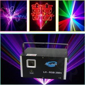 Chegada nova 3.5 w RGB animação laser scanner projetor DMX Stage DJ iluminação Dance Show bar discoteca Party Light Show system