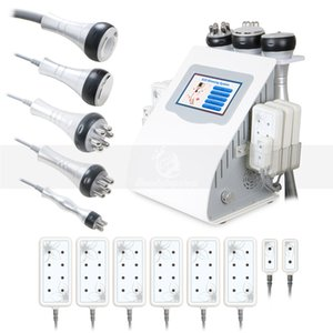 6in1 Ultraschall Kavitation Cellulite Removal RF Vakuum Diode Lipo Laser Body Contouring Abnehmen Spa Beauty-Maschine