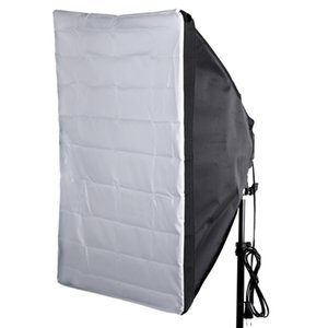 "Portátil 50 * 70 cm / 20 ""* 28"" Umbrella Refletor Softbox para Speedlight Externo Capa Branca"