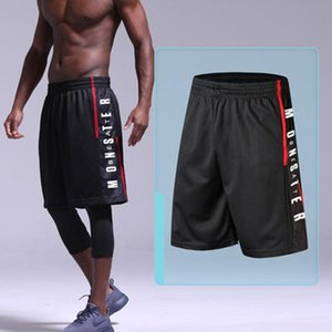 Mens Basketball Shorts schnell trocknend atmungsaktiv Trainingssport Laufhose Lose Gym Sport Badehose Größe M-3XL