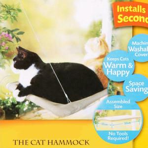 New Window Mount Cat Bed con robusti ventosa Cat Hammock Sunny Pet Supply Cat Bed Mats Riposo Sedile Lavabile Copertura Pet Beds