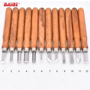 12 in 1 Carving Knife Graver Carver Kunststoff-paket oder leinwand tasche Verpackung 12 stücke set Holzschnitzerei Werkzeuge für Holz