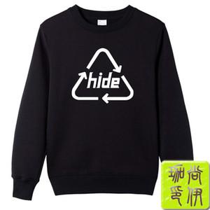 Japon rock grubu X-JAPONYA HIDE Crewneck kazak Erkek ve dişi aynı stil