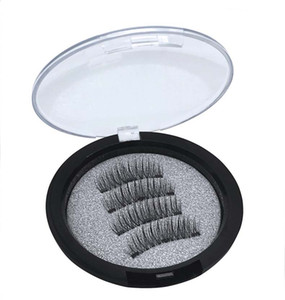New Arrival 3 Magnetic False Eyelashes Hand-made natural long Fake Lashes 24P TC01 TC03 drop shipping