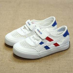 Boys Sports Shoes Brand 2018 New Kids Shoes Fashion Casual Mesh Sneakers For Girl Breathable Children'S Shoes Soft bottom