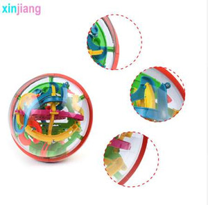 138 passi 3D Intellent Magic Maze Ball Rolling Ball Puzzle Game Rompicapo Bambini che imparano IQ Balance Giocattoli educativi