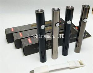 InStock Authentic Max Preheat Battery 380mAh Değişken Gerilim Alt Şarj 510 Pil A4 Atomizer Kalın Yağ Buharlaştırıcı Kalem Kartuşları