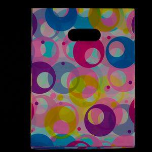 500 개 15x20 센치 메터 나비 연꽃 레이스 로즈 플라스틱 가방 11 색 보석 선물 가방 보석 파우치 가방 포장 크리스마스 선물