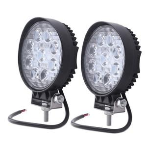 20pcs ATV 4 인치 27W지도 된 일 빛 램프 12V LED 트랙터는 점화 점 막대기를 작동한다 도로 떨어져 홍수 off-road 4X4 차 트럭 24V