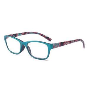 JN IMPRESSION gafas de lectura de color de moda de alta calidad gafas ultra-ligeras lupa T18966 de las mujeres
