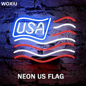 WOXIU Strip Neon Led Light Glow El Wire Rope Party String Tube Car Controller Decor Dance home wedding 5m Battery Operated Luminescent
