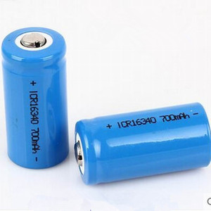 High quality CR123A  16340 700mAh 3.7V Rechargeable lithium battery Free shipping