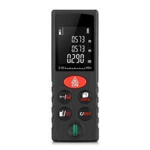 ليزر مسافة متر فاحص عالية الدقة الرقمية ليزر مسافة متر المدى مكتشف أدوات قياس